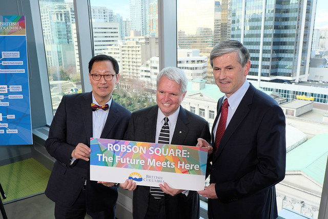 Province makes new investments in UBC as part of bold vision for Robson Square