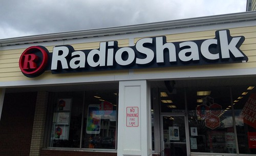 Radio Shack store retail electronics radio shack logo facade sign location. Pics by MikeMozart of TheToyChannel and JeepersMedia on YouTube. #RadioShack #RadioShackStore #RadioShackLogo #RadioShackSign #Radio #Shack #TheShack #ElectronicsStore | by JeepersMedia