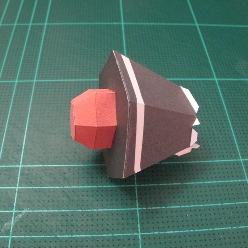 วิธีทำโมเดลกระดาษคุกกี้รัน คุกกี้รสโจรสลัด (Cookie Run Pirate Cookie Papercraft Model) 005