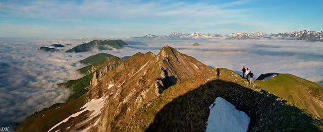 Moulle de Jaüt (2050 m) - Pyrénées béarnaises - France