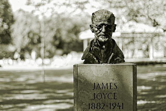 James Joyce Bust, St Stephen's Green, Dublin