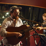 Wed, 30/07/2014 - 11:35pm - Bear's Den in concert for WFUV Members, 7/30/14. Hosted by Kara Manning. Photo by Gus Philippas