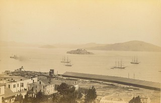Fort Alcatraz, San Francisco, circa 1888 | by Archives Branch, USMC History Division