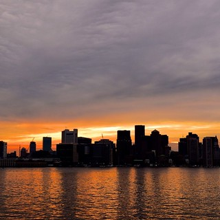 Not a bad skyline Boston. Not bad at all. #vscocam #igersmass #igboston #bostonharborcruises | by kieran_m_kelly