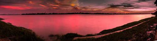 sunset red cloud reflection cloudformation pandey mangal sahid barrackpore uddan nikond7000 nishanghat