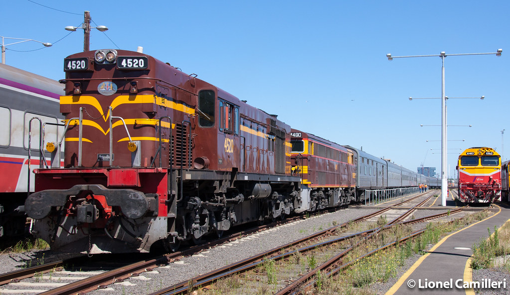 Stabled at Dynon by LC501