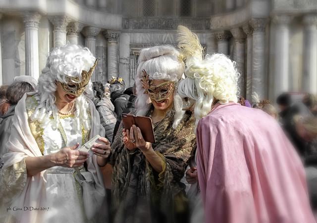Carnevale di Venezia -Le tre Dame