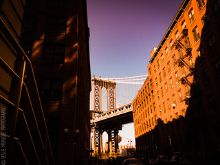 Brooklyn / Manhattan Bridge   by Leslie Monique Photography