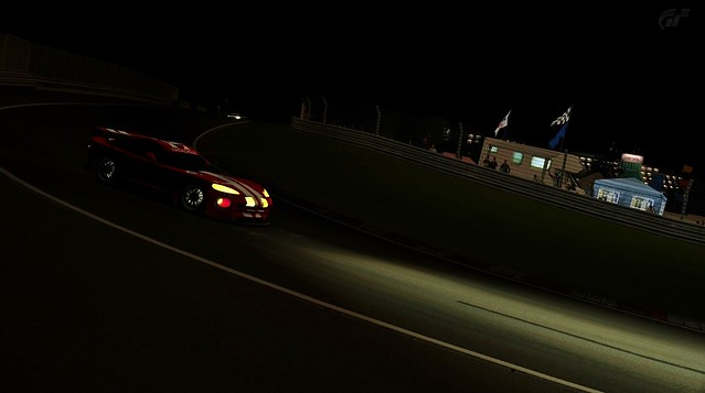 Dodge Viper GTS-R Lights In The Darkness