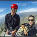 Fernando y yo en la cumbre by Juan M Casillas