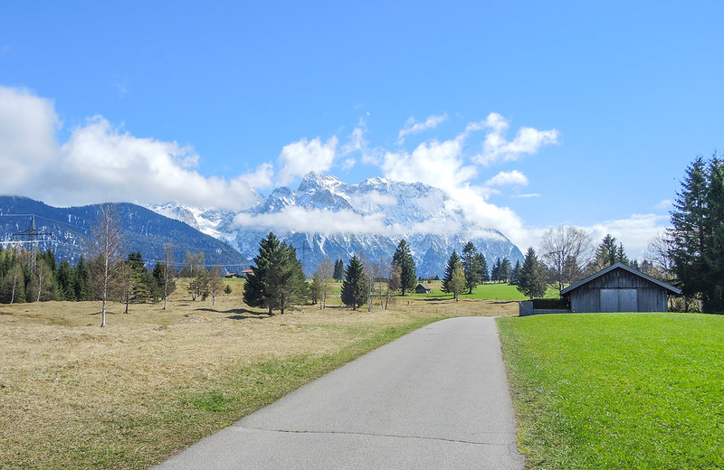 The long way to Mittenwald (Bavaria)