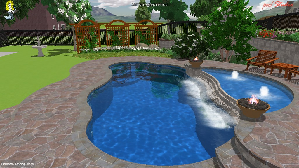 Moroccan Sun Deck Project 036 With Many Options