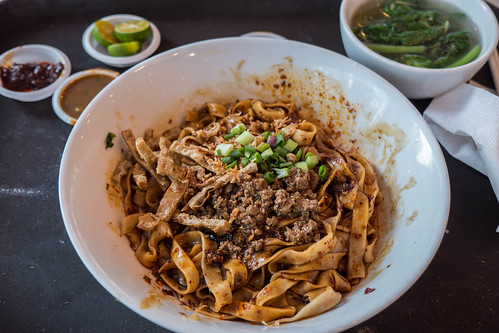 Dried chilli noodles with pork mince.jpg | by crystalcastaway