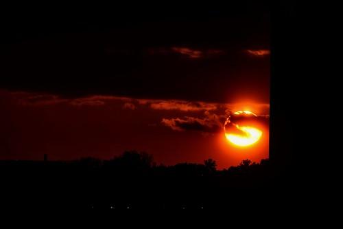 sunset usa sun window evening nikon cloudy kansascity missouri d7000