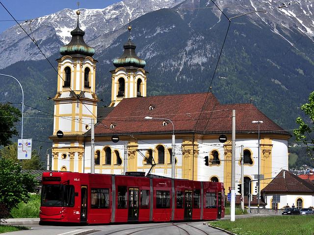 Bombardier Flexity Outlook #315 IVB Innsbruck