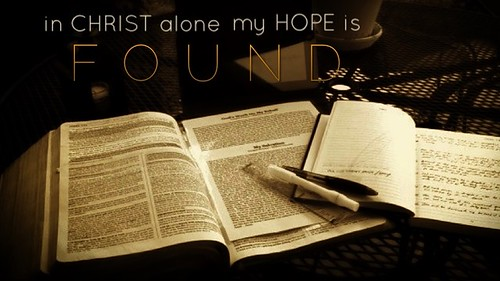 In Christ Alone!! | by Saved by Grace (100% God, 0% Me)