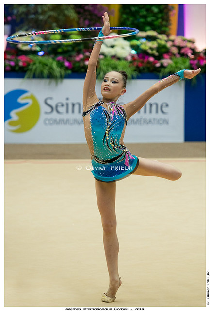 Sabina ASHIRBAYEVA (KAZ), Qualification 40ème Internationaux GR Corbeil Essonne