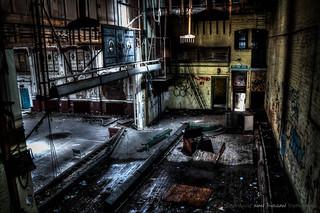 Whittingham Asylum - Ballroom Stage | by DugieUK