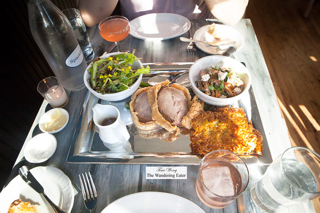 The tray of the Pig Feast