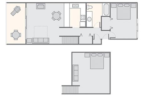 Pono Kai Resort 1 Bedroom Loft 1 011 Sq Ft Bluegreen S P Flickr