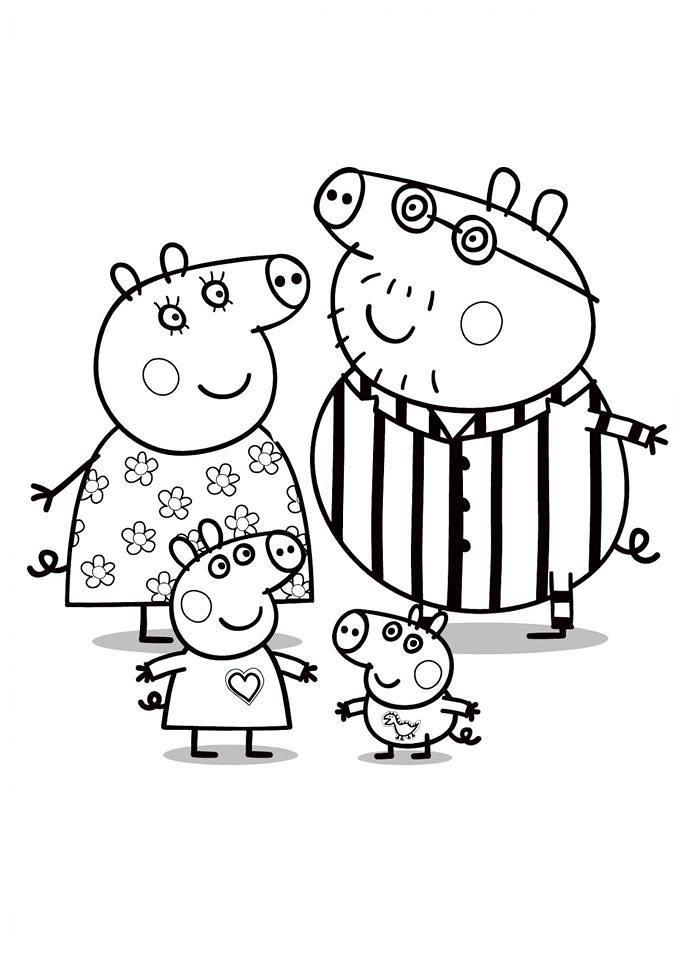 Peppa Pig Desenhos Colorir Pintar Imprimir05 Desenhos Do P Flickr