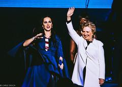 Hillary Clinton and Katy Perry @ The Mann Center Philadelphia 2016 III
