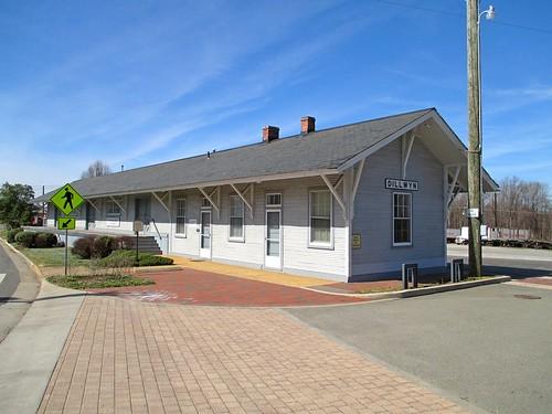 co chesapeakeandohio depot trainstation buckinghambranchrailroad dillwyn virginia