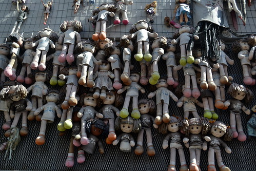 Milano Wall of Dolls