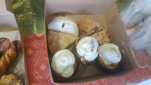 Breakfast from La Boulangerie. Photo by KaTrina Griffin