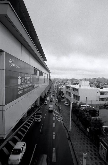 ゆいレール市立病院前駅(沖縄県)( Yui Rail Shiritsu-byouinmae Station. Okinawa )