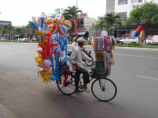 Ho-Chi-Minh | Straßenverkäufer