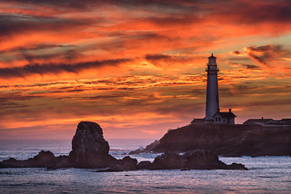Lighthouse Sunset | by madrones