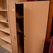Medium beech used 2 door storage unit1600x1000wx570d E125
