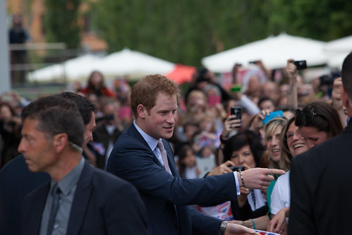 Prince Harry at MAXXI to unveil winning UK pavilion design for Expo 2015 | by UK in Italy