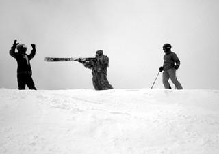Abominable Snowman ski attack   by DanWri