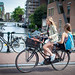 Amsterdam Bikers by Lucy Liu.