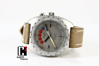 Vintage Heuer Regatta Swiss made automatic | by C Squared Watches and Timepieces