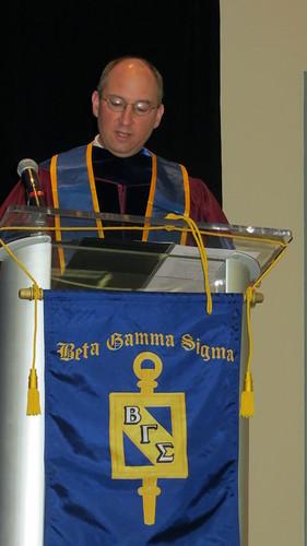 Betta Gamma Sigma Ceremony Spring 2014