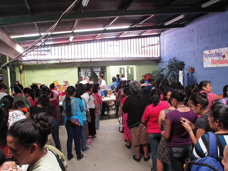 Soap Distribution, Children International Office in Guatemala, May 2014