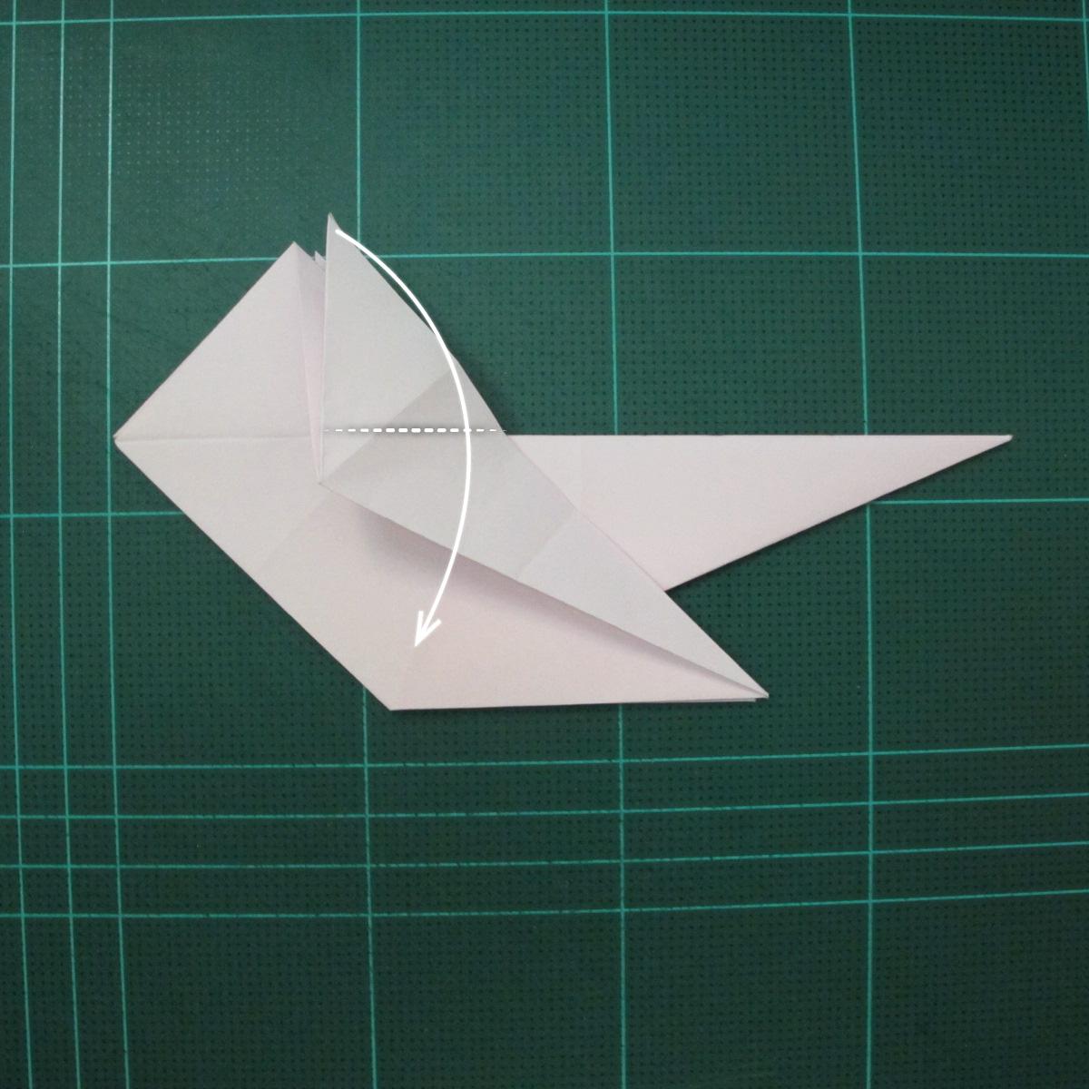 การพับกระดาษเป็นไดโนเสาร์ทีเร็กซ์ (Origami Tyrannosaurus Rex) 018