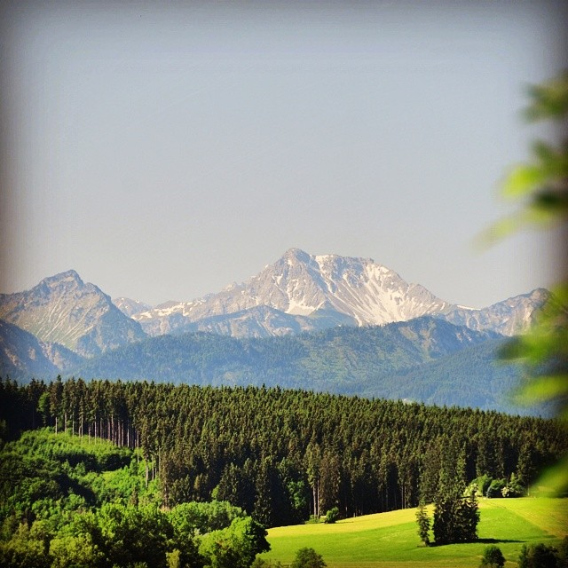 One last view at the #Alps
