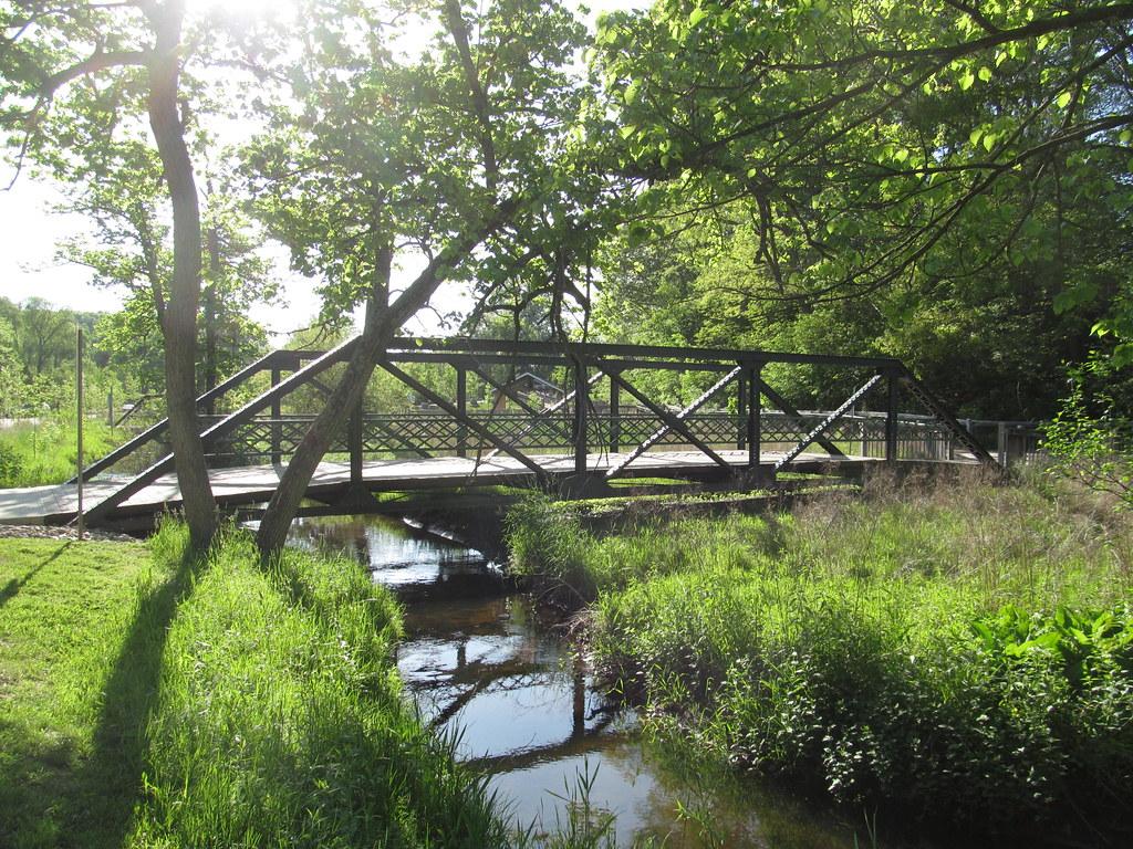 Historic Bridge Park - Battle Creek, Calhoun County, Michi