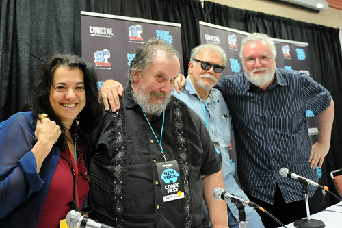 New York Comic Fest 2014: Ann Nocenti, Peter B. Gillis,  Rick Parker, and Jim Salicrup | by Kendall Whitehouse