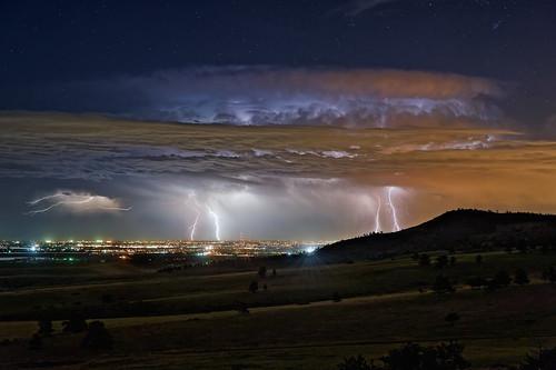 Rabbit Mountain Lightning