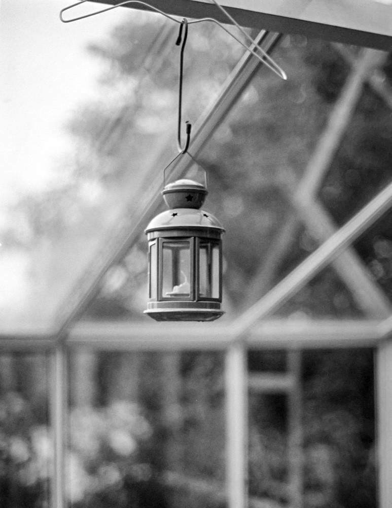 Lantern | Pentax SF-1, Plus-X @400, Diafine, Nikon 9000 scan