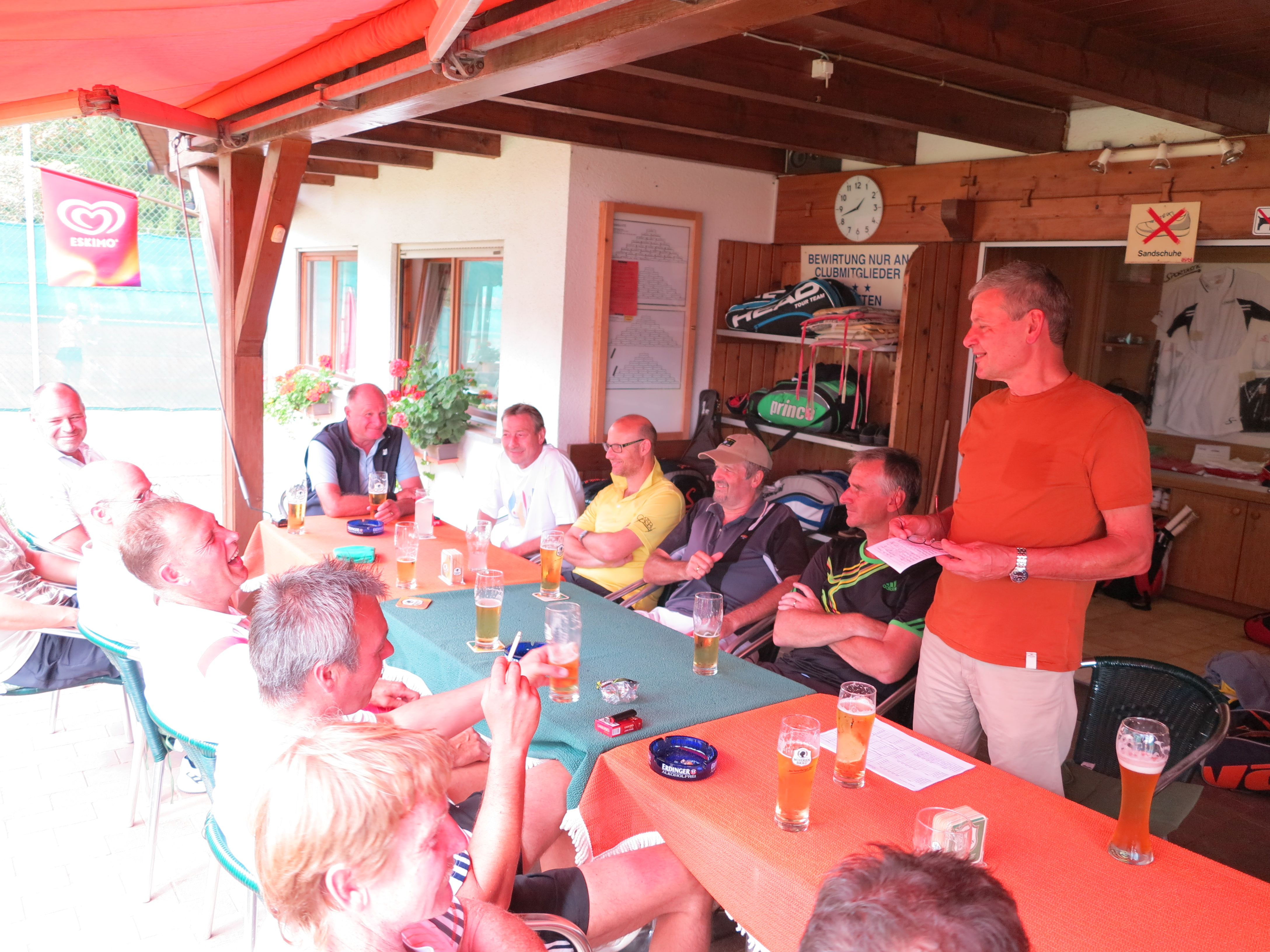 2014 Doppelturnier Gruppe Hohenweiler u. Damen