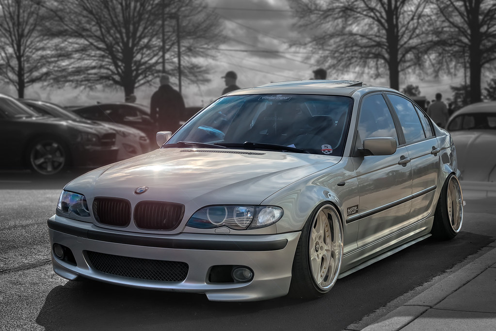Bmw M3 E46 Stanced Cars Coffee Of The Upstate Flickr
