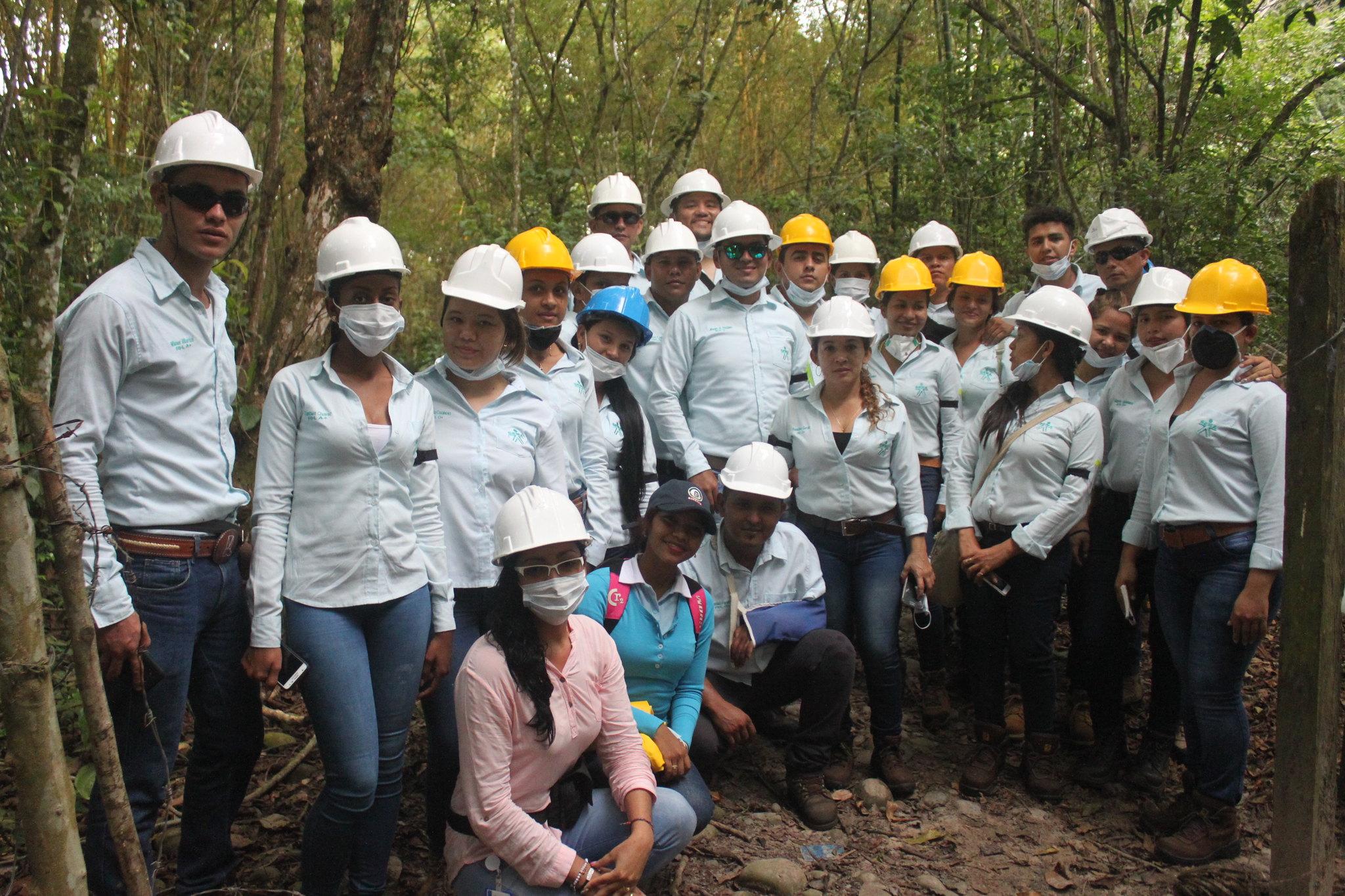 Estudiantes SENA-Arauquita  visitan planta de reciclaje y de aguas residuales