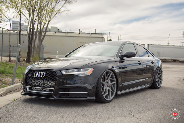 Audi A6 with Vossen Forged CG-209T