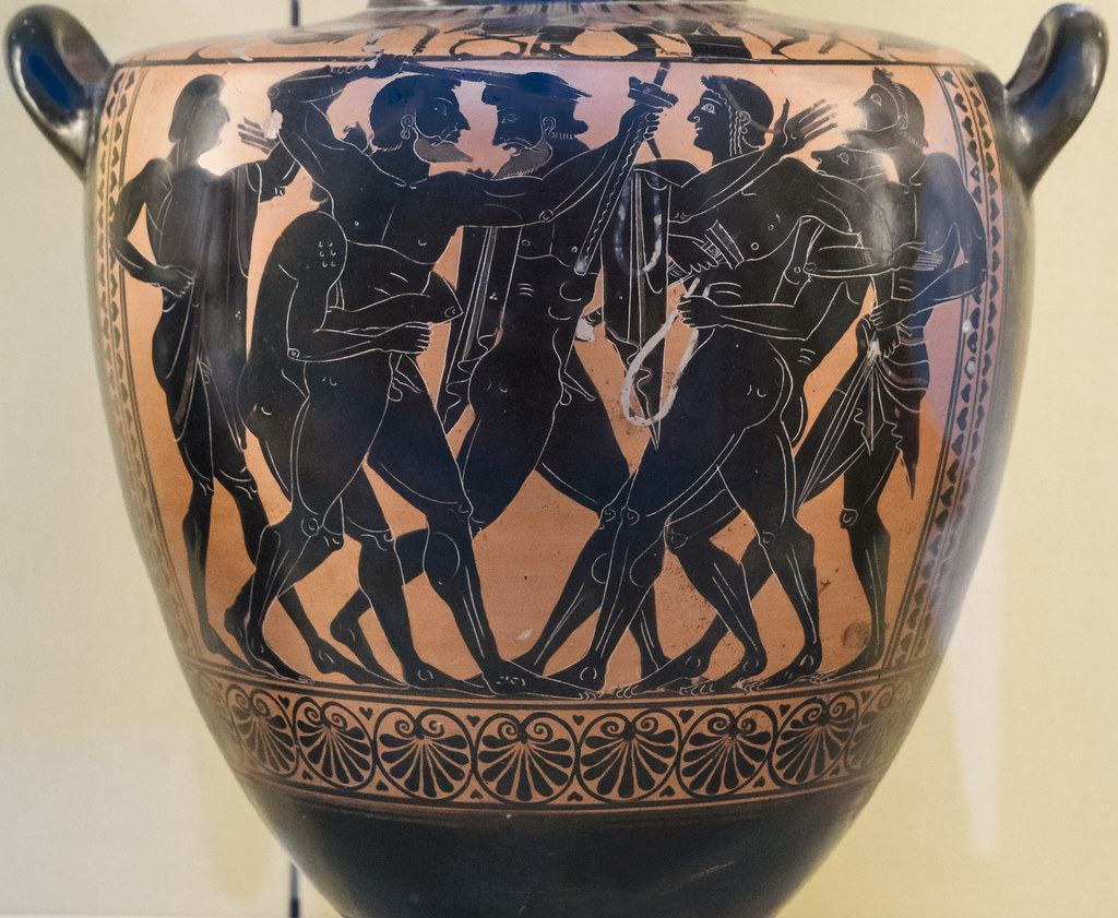 Aithiopis VII – Strife of Ajax and Odysseus | According to P… | Flickr